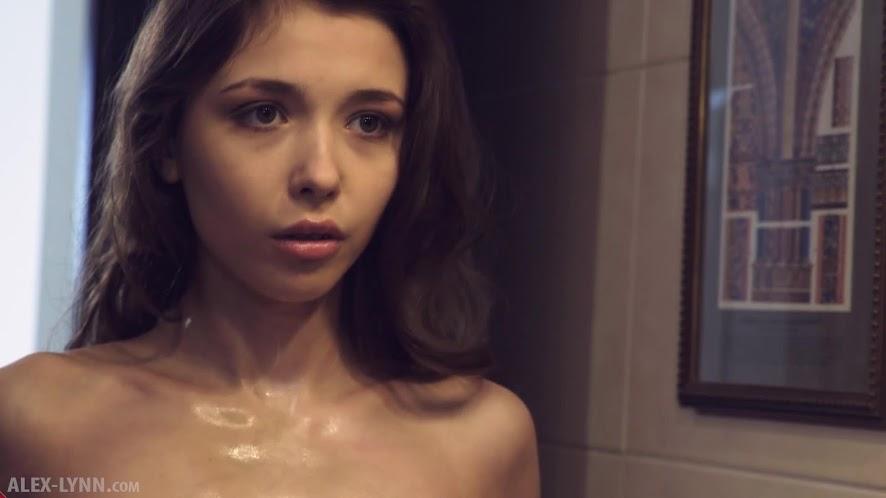 [Alex-Lynn] 2017-04-20 - Mila Azul - After Shower - Milk Bath [1080p]